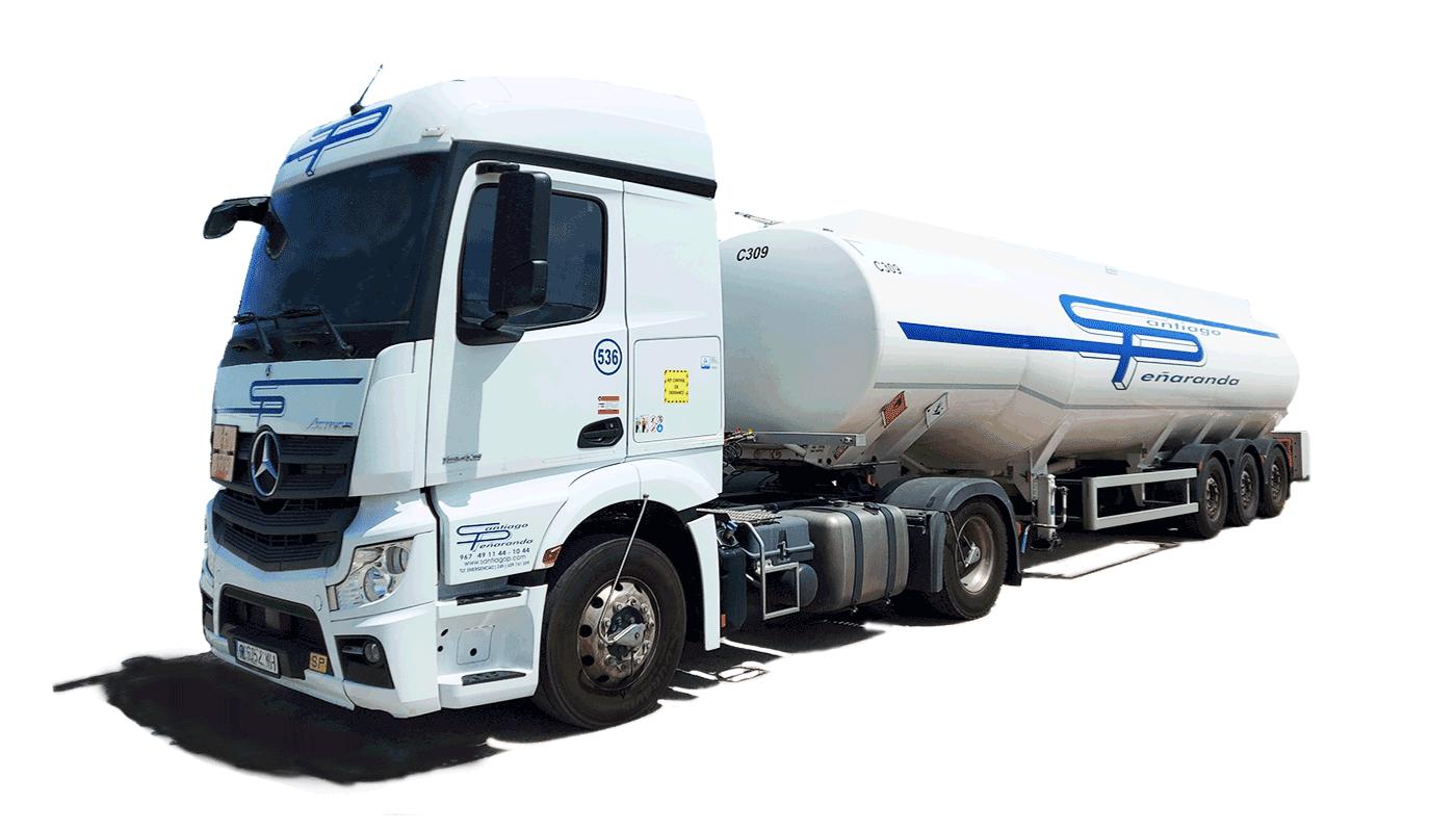Santiago Peñaranda Transporte de Lubricantes en Cisterna